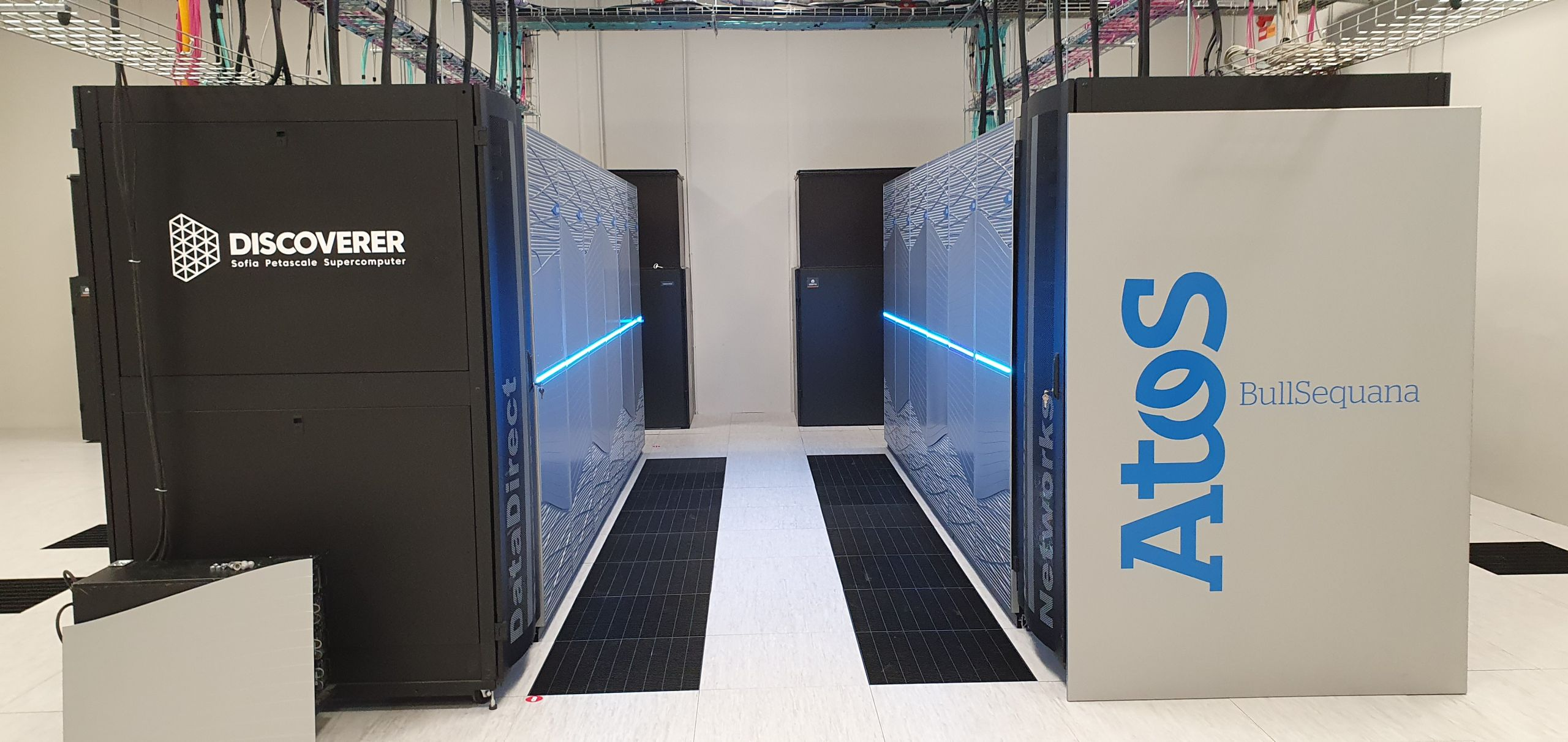 THE DISCOVERER SUPERCOMPUTER HAS EXCEEDED THE PLANNED COMPUTING POWER DURING TESTS